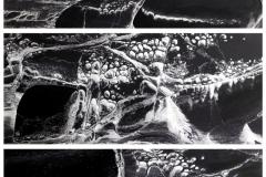 Boulder Scrolls Triptych, 103x140cm