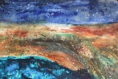 Starry Night, 45x45cm
